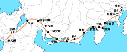 JR東海の路線図|JR東海